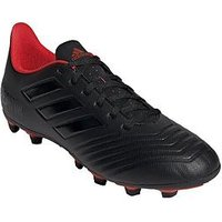 adidas Adidas Mens Predator 19.4 Firm Ground Football Boot, Black, Size 6, Men
