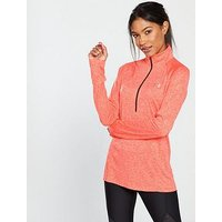 UNDER ARMOUR Tech™ 1/2 Zip Top - Orange, Orange, Size Xl, Women