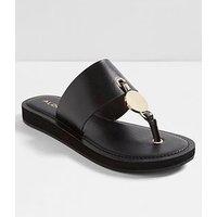 Aldo Yilania Flip Flop Sandal - Black, Black, Size 3, Women