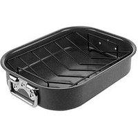 Tower Cerastone 2 Piece Non-Stick Roaster Set Graphite