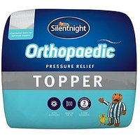 Product photograph showing Silentnight Orthopaedic 5 Cm Ultimate Mattress Topper