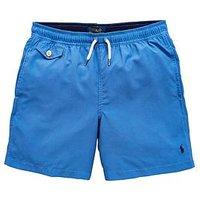 Ralph Lauren Boys Classic Swimshort - Blue, Blue, Size Age: 7 Years