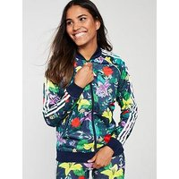 adidas Originals adidas Originals Superstar Blossom Of Life Jacket, Multi, Size 12, Women