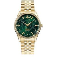 Vivienne Westwood The Wallace Emerald Lace Gold Detail And