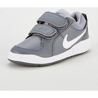 Nike Pico 4 Childrens Trainers, Grey/White, Size 1