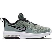 Nike Nike Air Max Sequent 4 Bp Childrens Trainers, Grey, Size 13