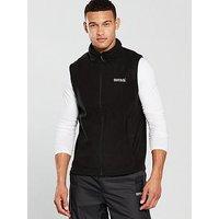 Regatta Tobias Bodywarmer Fleece, Black, Size 3Xl, Men