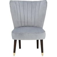 Product photograph showing Michelle Keegan Home Sabina Fabric Accent Chair