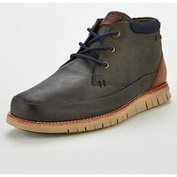 Barbour Nelson Lace-up Boot, Navy, Size 7, Men
