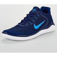 Nike Free RN 2018 - Blue, Blue, Size 6, Men