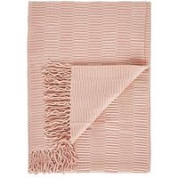 Product photograph showing Gallery Linear Pleat Throw