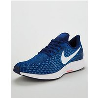 Nike Air Zoom Pegasus 35 Trainers - Blue/White, Blue/White, Size 6, Men