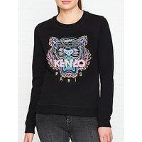 Kenzo Classic Tiger Head Sweatshirt - Black