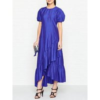Kenzo Frilled Maxi Dress - Blue