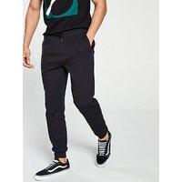 V by Very BASIC JOG PANTS - BLACK, Black, Size 4Xl, Men