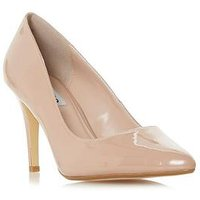 Dune London Angelle Court Heeled Shoe - Nude