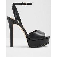 Aldo Eowelassa Heeled Sandal - Black, Black, Size 7, Women