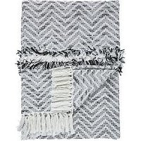 Product photograph showing Gallery Zumba Herringbone Throw