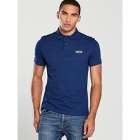 Barbour International Essential Polo, Inky Blue, Size Xl, Men
