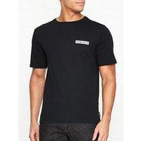 Penfield Miller Back Logo Print T-Shirt - Black