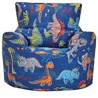Product photograph showing Dinosaur Design Bean Chair