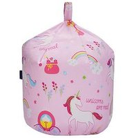 Product photograph showing Unicorn Bean Bag
