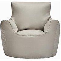 Bean Chair, Light Grey
