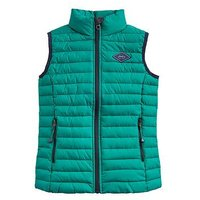 Joules Toddler Boys Crofton Quilted Gilet, Green, Size Age: 4 Years
