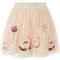 Monsoon Popsicle Skirt, Nude, Size Age: 3-4 Years, Women