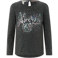 Monsoon Magical Top, Grey, Size Age: 11-12 Years, Women