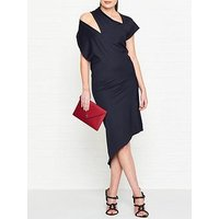 Vivienne Westwood Anglomania Timans Cut Out Detail Jersey Dress - Navy
