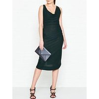 Vivienne Westwood Anglomania Virginia Glitter Jersey Dress - Dark Green