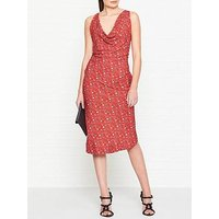 Vivienne Westwood Anglomania Virginia Liberty Print Dress - Red