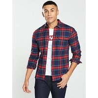 Levi's Levis Jackson Check Worker Shirt, Blue, Size 2Xl, Men