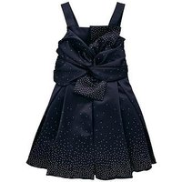 Baker by Ted Baker Girls Scatter Crystal Prom Dress, Navy, Size 9 Years, Women