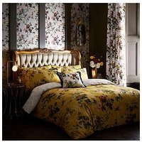 Product photograph showing Oasis Home Leighton 100 Cotton Duvet Cover Set