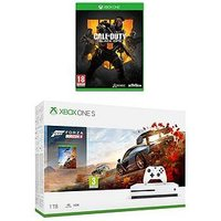 Xbox One S 1Tb Xbox One S 1Tb With Forza Horizon 4 And Call Of Duty Black Ops 4