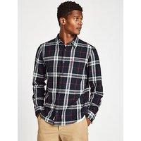 Jack Wills Jack Wills Langworth Heavy Flannel L/S Shirt, Navy, Size Xs, Men