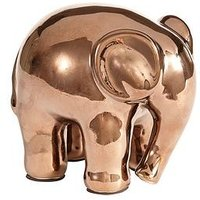 Product photograph showing Ideal Home Bronze Elephant Ornament