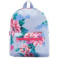 Joules Girls Adventure Rubber Backpack, One Colour