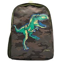 Joules Boys Patchback Dino Backpack, One Colour