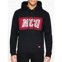Mcq Alexander Mcqueen Big Logo Hoodie - Black