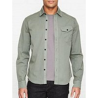 Belstaff Steadway Cotton Oxford Shirt - Green