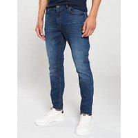 V by Very Ripped Vintage Jean - Vintage Wash, Vintage Wash, Size 38, Inside Leg Regular, Men
