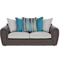 Product photograph showing Calluna Fabric 3 Seater Scatter Back Sofa
