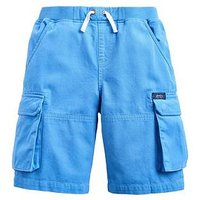 Joules Boys Bob Cargo Shorts - Blue, Blue, Size 9-10 Years