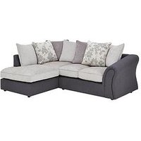 Viva Fabric Compact Left Hand Scatter Back Sofa