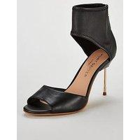 KURT GEIGER LONDON Heeled Two Part Sandals - Black, Black, Size 3, Women