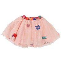 Billieblush Girls Glitter Mesh Skirt - Pink, Pink, Size Age: 6 Years, Women