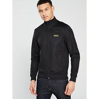 Barbour International Barbour International Essential Track Top, Black, Size S, Men